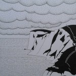 FRESHWATER CLOUDS A3 original pen & ink £80